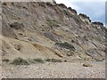 SZ1790 : Cliff slump - Hengistbury Head by Given Up