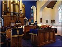 H4472 : Interior, Trinity Church, Omagh by Kenneth  Allen
