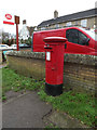 TL3856 : Barton Road Postbox by Adrian Cable
