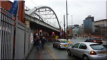 SJ8397 : Albion Street Near Bridgewater Hall & Manchester Central by Richard Cooke