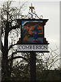 TL3856 : Comberton Village sign by Adrian Cable