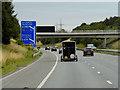 SE4223 : Eastbound M62 near Castleford by David Dixon