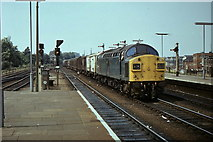 TM1543 : Freight Train at Ipswich Station by Ray Durrant