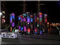 SJ8097 : Lightwave Installation, Lowry Plaza by David Dixon