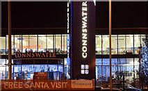 J3674 : Connswater Shopping Centre (night view), Belfast (December 2015) by Albert Bridge