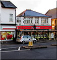 ST3388 : Scaffolding on Ladbrokes, Chepstow Road, Newport by Jaggery