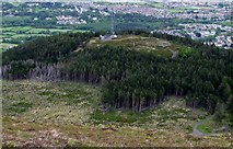 J3630 : The summit of Drinnahilly viewed from the slopes of Slievenamaddy by Eric Jones