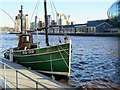 NZ2563 : 'Sovereign', Quayside Marina by Andrew Curtis