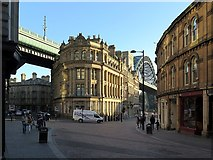 NZ2563 : Side, Newcastle upon Tyne by Andrew Curtis