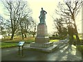 SE2835 : Statue of Sir Robert Peel, Hyde Park, Leeds by Stephen Craven