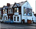 ST3288 : JCDecaux advertising space on an Eveswell side wall, Newport by Jaggery