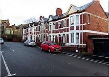 ST3288 : East side of Kensington Grove, Newport by Jaggery