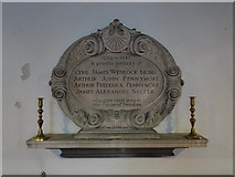 TG2406 : Trowse WW2 memorial by Adrian S Pye