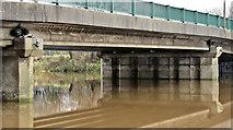 J3371 : The River Lagan at the Governor's Bridge, Belfast (December 2015) by Albert Bridge
