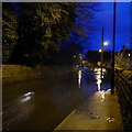 SE2437 : Flood in Outwood Lane, Horsforth, Boxing Day 2015 (1) by Rich Tea