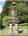 SE3467 : Nidd ferry disaster memorial, Newby Hall by Bill Harrison