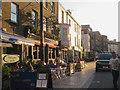 SU4211 : Oxford Street scene, Southampton, on a summer's evening by Robin Stott