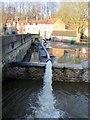 SE7971 : River  Derwent  in  flood  at  Malton  27th  Dec  2015  (13) by Martin Dawes