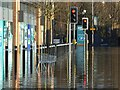 SE2635 : Trolley abandoned in the floods by Stephen Craven