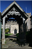 ST3970 : Lych Gate, St Andrew's Church by Jo Turner