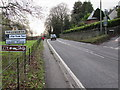 SO8400 : Northern boundary of Nailsworth by Jaggery