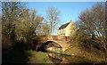 SU0797 : Wildmoorway Lock Bridge, Thames and Severn Canal by Vieve Forward