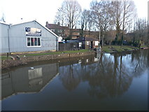 SE3967 : High water in the Milby Cut by Graham Hogg