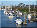 TF4609 : The Yacht Harbour on The River Nene, Wisbech by Richard Humphrey