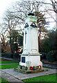 TQ2292 : War memorial, Mill Hill by Julian Osley
