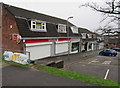 ST3091 : Shuttered Larch Grove shops on New Year's Day 2016, Malpas, Newport by Jaggery