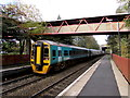 SJ7009 : Arriva Trains Wales train leaves Telford Central by Jaggery