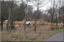 NS2209 : Adventure Cove / Play Fort, Culzean Country Park by Billy McCrorie