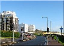 TQ3303 : Marine Parade, Black Rock, Brighton by Simon Carey