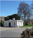 TQ3179 : Former lodge, Lambeth Road by Stephen Richards