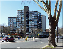 TQ3179 : Lambeth Towers, Kennington Road by Stephen Richards
