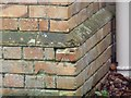 SY9788 : Benchmark on School House, Arne by Becky Williamson