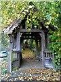 TM2148 : Lych gate, St Mary's Playford by Bikeboy