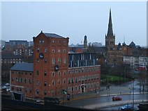 SJ8298 : Salford Skyline by Anthony Parkes