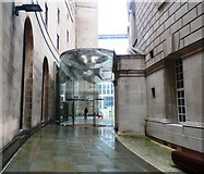 SJ8397 : New Entrance to Manchester's Central Library by Anthony Parkes