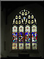 TM3389 : Stained Glass Window of St Mary's Church by Adrian Cable
