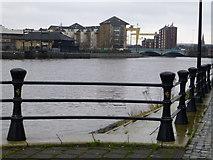 J3473 : River Lagan, Belfast by Kenneth  Allen