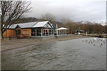 SD3097 : The Bluebird Café, Coniston Water by Kate Jewell