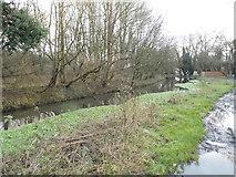 TQ0481 : Fray's River, Cowley by David Howard
