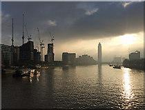 TQ3078 : View from Lambeth Bridge (1) by Stephen Richards