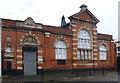 TQ3186 : Former postal sorting office, Goodwin Street by Julian Osley
