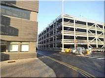 SJ9300 : Hospital Multistorey by Gordon Griffiths