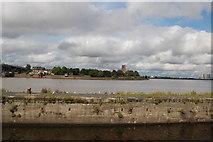 SJ5183 : View across the Runcorn Gap by Trevor Harris