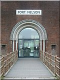 SU6007 : Fort Nelson - footbridge to main entrance by Rob Farrow