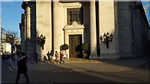 TQ3081 : Entrance to the United Grand Lodge of England, Great Queen Street, London WC1 by Christine Matthews
