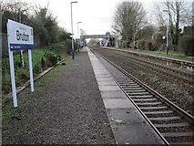 ST6834 : Bruton railway station, Somerset by Nigel Thompson